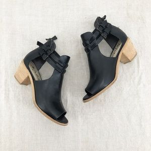 Anthropologie Shoes Glam Rose Tan Leather Wedges Poshmark